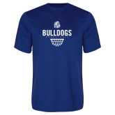 Performance Royal Tee-Bulldogs Basketball Net