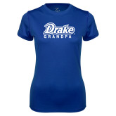Ladies Syntrel Performance Royal Tee-Drake Grandpa