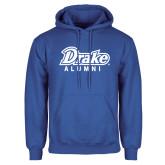 Royal Fleece Hoodie-Drake Alumni