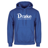 Royal Fleece Hoodie-Drake University