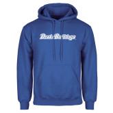 Royal Fleece Hoodie-Drake Bulldogs