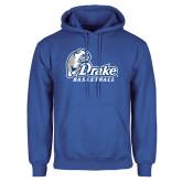 Royal Fleece Hoodie-Drake Basketball