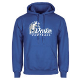 Royal Fleece Hoodie-Drake Football