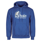 Royal Fleece Hoodie-Drake Volleyball