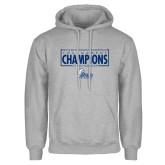Grey Fleece Hoodie-2018 Womens Basketball Tournament Champions