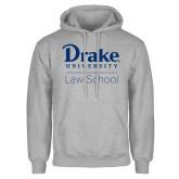 Grey Fleece Hoodie-Law School