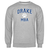Grey Fleece Crew-Drake MBA