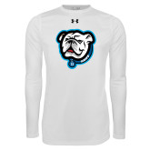 Under Armour White Long Sleeve Tech Tee-Griff