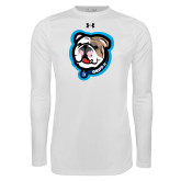Under Armour White Long Sleeve Tech Tee-Griff II