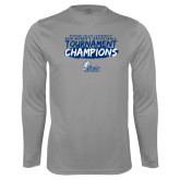 Performance Steel Longsleeve Shirt-2018 Womens Basketball Tournament Champions