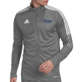 Adidas Grey Tiro 19 Training Jacket-Drake University