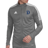 Adidas Grey Tiro 19 Training Jacket-Drake D Logo