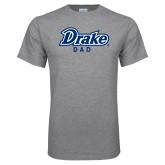 Grey T Shirt-Drake Dad