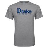 Grey T Shirt-Drake University