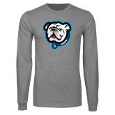 Grey Long Sleeve T Shirt-Griff