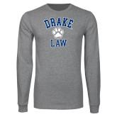 Grey Long Sleeve T Shirt-Drake Law