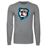 Grey Long Sleeve T Shirt-Griff II