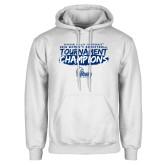 White Fleece Hoodie-2018 Womens Basketball Tournament Champions
