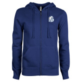ENZA Ladies Royal Fleece Full Zip Hoodie-D Dog