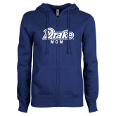 ENZA Ladies Royal Fleece Full Zip Hoodie-Drake Mom