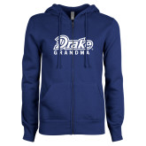 ENZA Ladies Royal Fleece Full Zip Hoodie-Drake Grandma