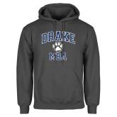 Charcoal Fleece Hoodie-Drake MBA