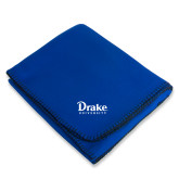Royal Arctic Fleece Blanket-Drake University