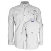 Columbia Bahama II White Long Sleeve Shirt-Primary Mark