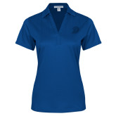 Ladies Royal Performance Fine Jacquard Polo-D Logo