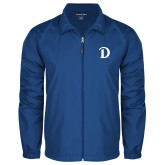 Full Zip Royal Wind Jacket-Drake D Logo