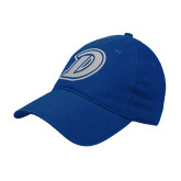 Royal Twill Unstructured Low Profile Hat-D Logo