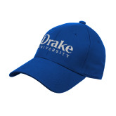Royal Heavyweight Twill Pro Style Hat-Drake University