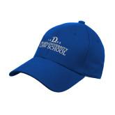 Royal Heavyweight Twill Pro Style Hat-1865 Drake Law School