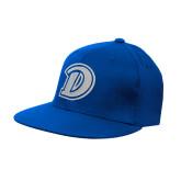 Royal OttoFlex Flat Bill Pro Style Hat-D Logo