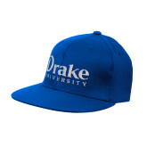 Royal OttoFlex Flat Bill Pro Style Hat-Drake University