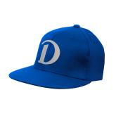 Royal OttoFlex Flat Bill Pro Style Hat-Drake D Logo