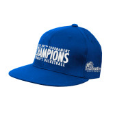 Royal OttoFlex Flat Bill Pro Style Hat-2018 Womens Basketball Tournament Champions