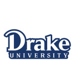 Small Magnet-Drake University, 6 inches wide