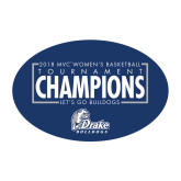 Medium Magnet-2018 Womens Basketball Tournament Champions