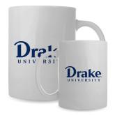 Full Color White Mug 15oz-Drake University