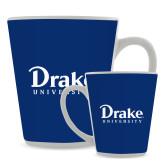 Full Color Latte Mug 12oz-Drake University