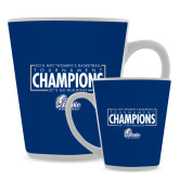 Full Color Latte Mug 12oz-2018 Womens Basketball Tournament Champions