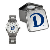 Ladies Stainless Steel Fashion Watch-Drake D Logo