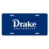 License Plate-Drake University