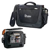 High Sierra Black Upload Business Compu Case-Drake University