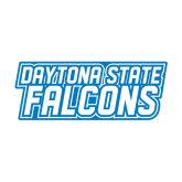 Medium Decal-Daytona State Falcons Stacked, 8 inches wide