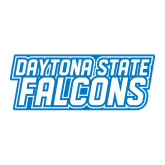 Large Decal-Daytona State Falcons Stacked, 12 inches wide