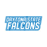 Small Decal-Daytona State Falcons Stacked, 6 inches wide