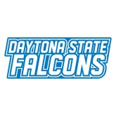 Extra Large Decal-Daytona State Falcons Stacked, 18 inches wide