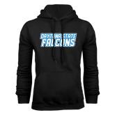 Black Fleece Hoodie-Daytona State Falcons Stacked